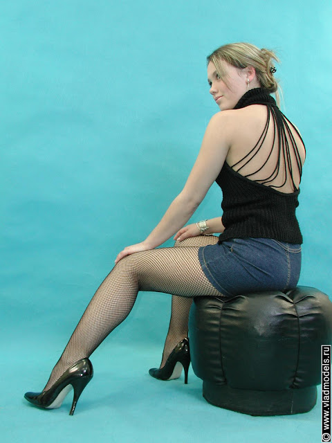 Women in fish net stockings xxx