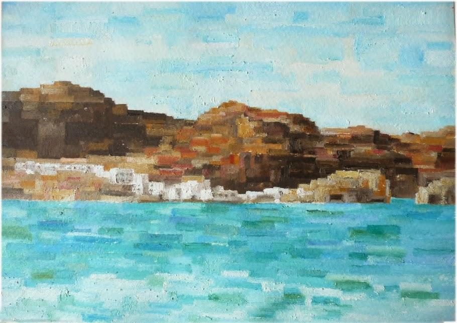 La Isleta y el mar de Gata