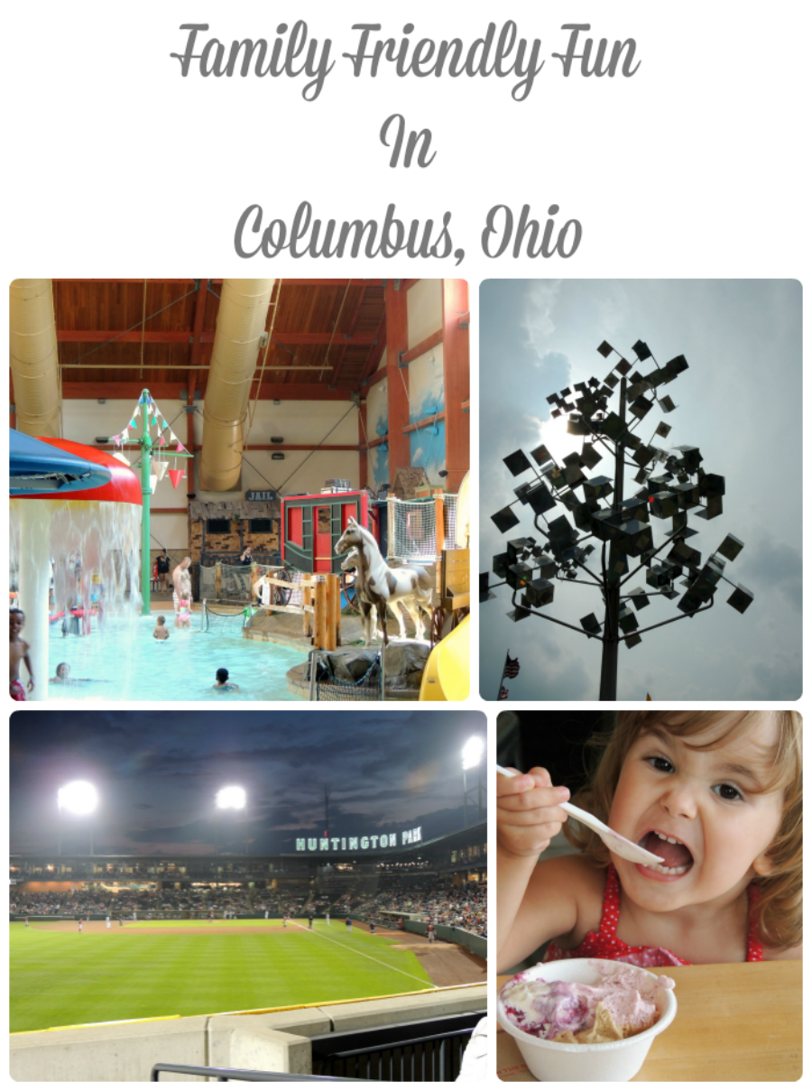 Family Friendly Fun in Columbus, Ohio via thefrugalfoodiemama.com #familytravel