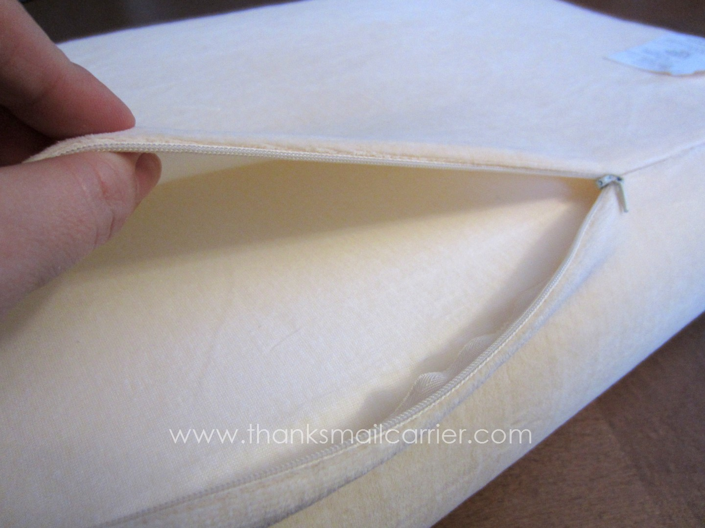 Thanks, Mail Carrier | Nature's Sleep Memory Foam Pillows {Review ...