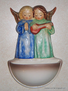 Angel Duet Holy Water Font #146