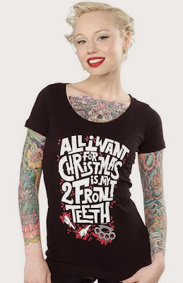 92f3bace952 Goth Shopaholic  Dark and Gothic Christmas and Krampus Clothing from ...