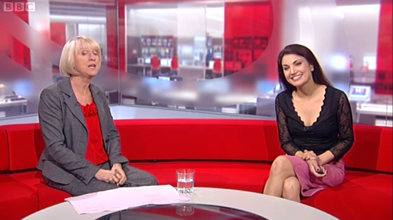 girl Khan reham bbc weather