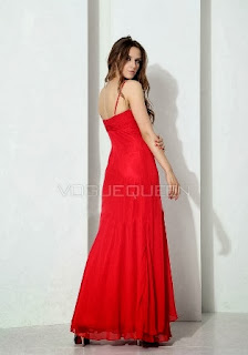 Red Christmas Bridal Drsses Gown
