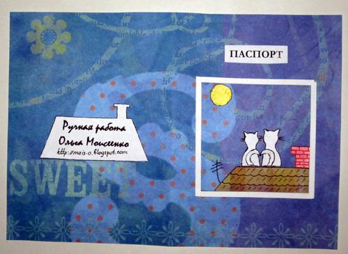 обложка на паспорт заказать в Минске