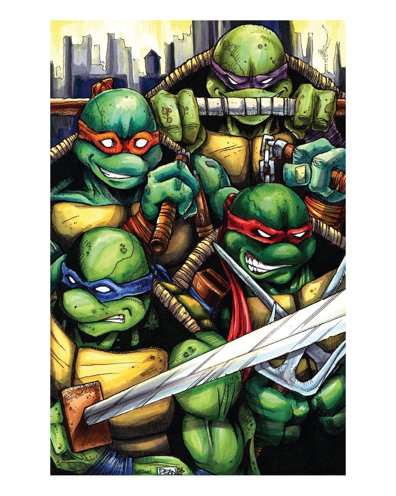the art of garrick dean teenage mutant ninja turtles color prints