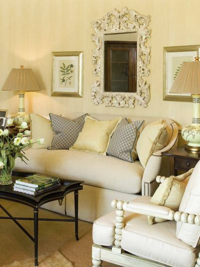 Color outside the lines small living room decorating ideas - Living room with small space ...