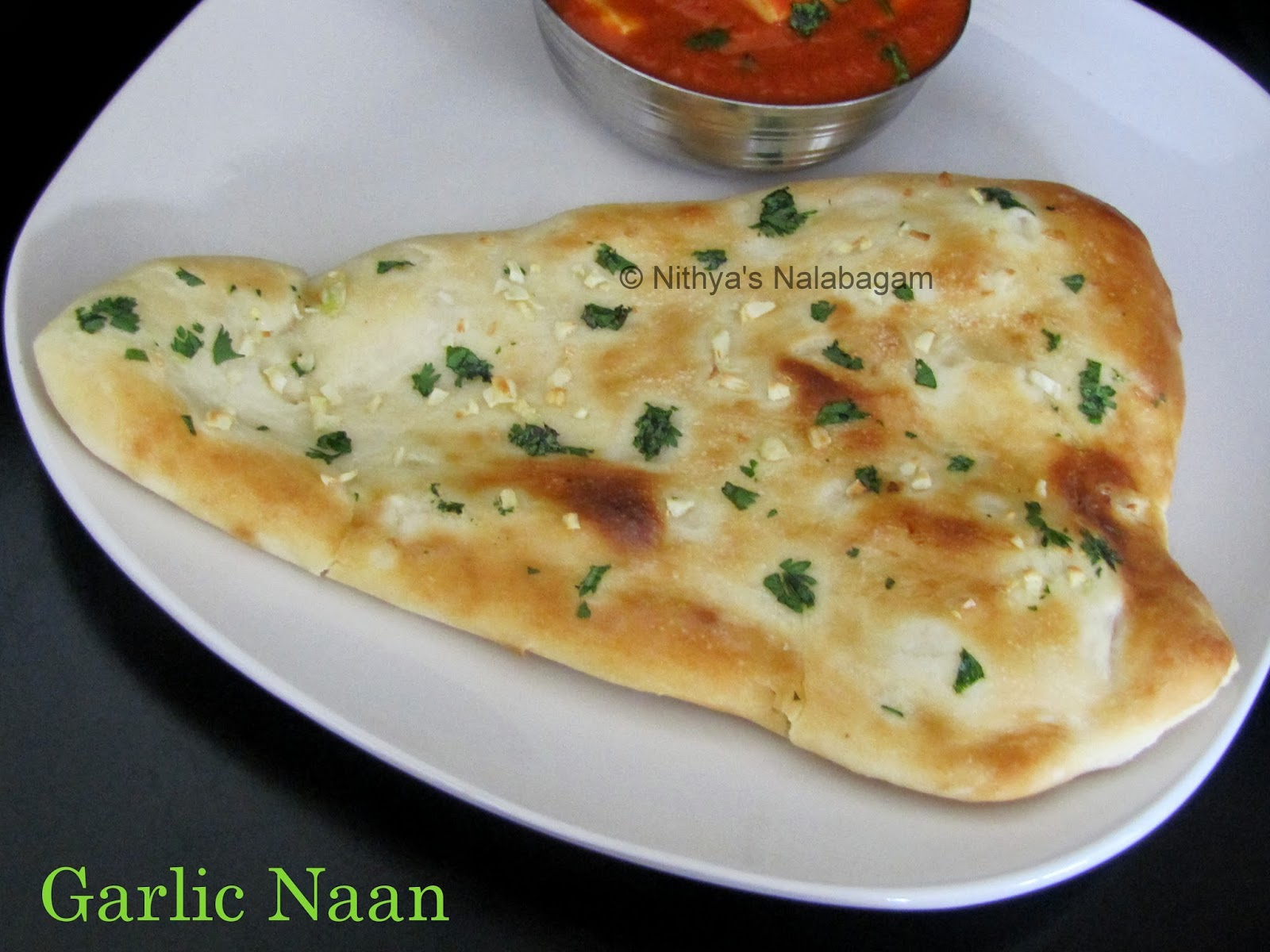 Garlic Naan | Oven Method |Nithya's Nalabagam