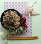 Sekihan - ryż z fasolą adzuki