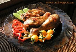 Запеченая курица