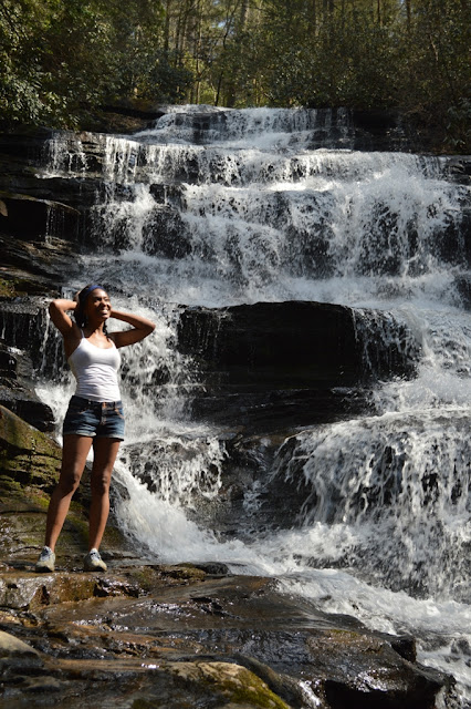 Me at Minnehaha Falls - Tallulah Gorge - The City Dweller