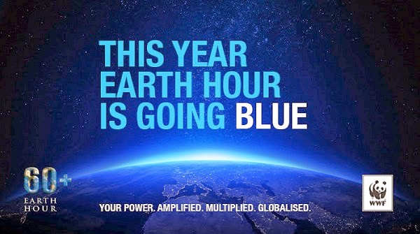 Switch off and celebrate Earth Hour.