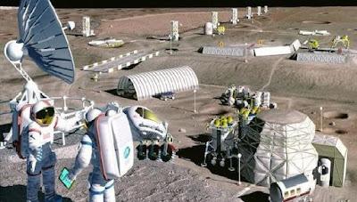Kepala ESA Usulkan Pembangunan Desa di Bulan
