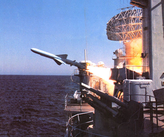 Chinese YJ-83 cruise missile