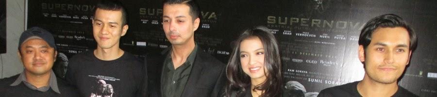 Press Conference - Rizal Mantovani - Herjunot Ali - Sunil Soraya - Raline Shah - Arifin Putra. Supernova - Ksatria, Putri & Bintang Jatuh