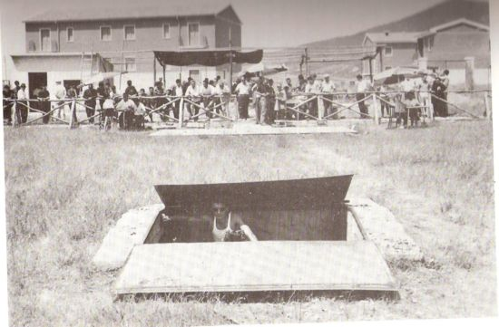 Foto d&#39;Epoca: Rionero, campo di tiro a volo