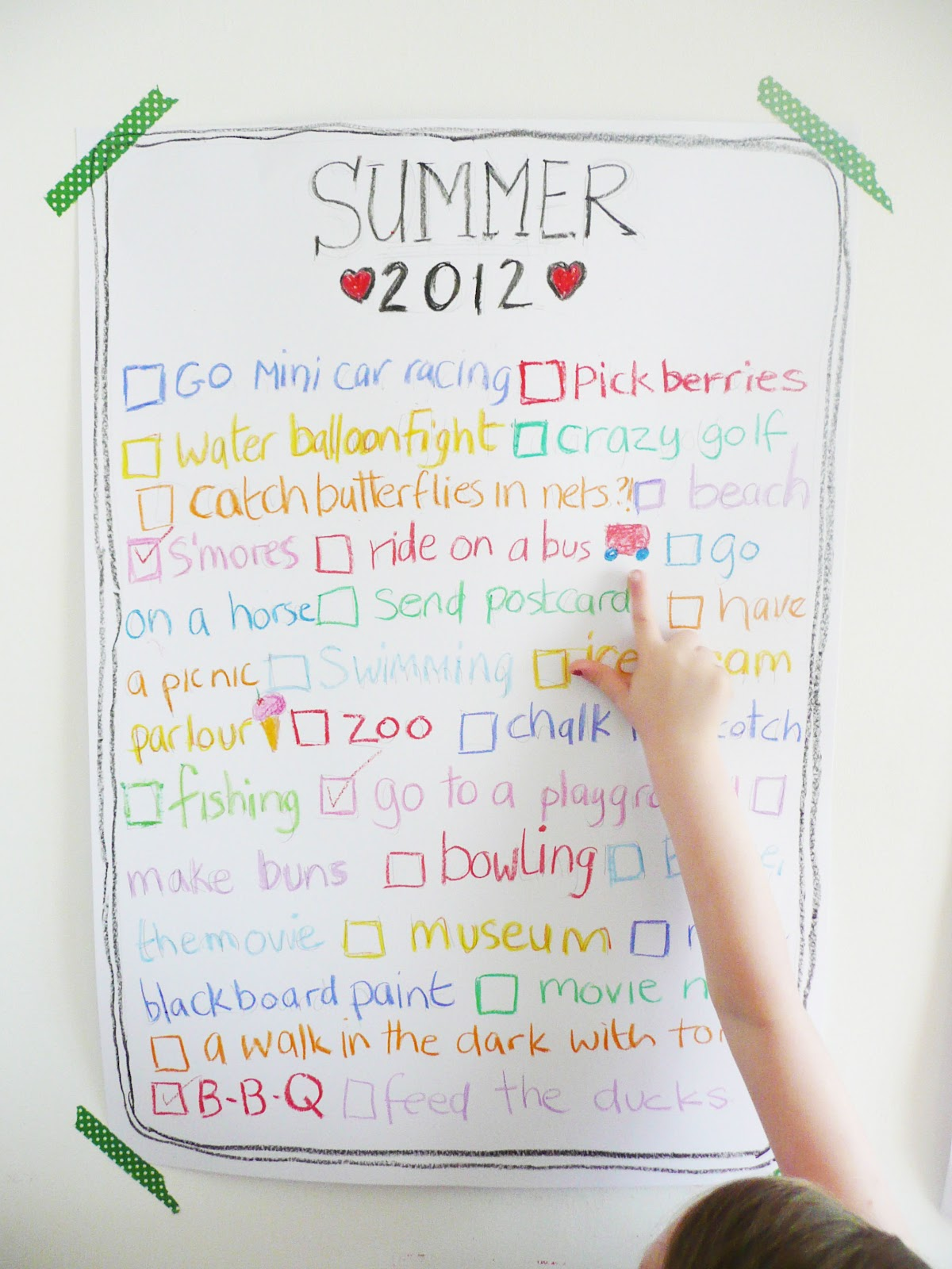 Designbirdie Our Summer Bucket And Spade List 2012