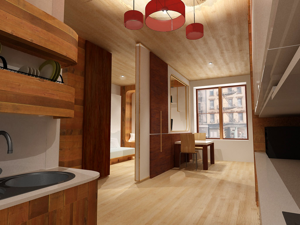 New York Small Apartment Design Competition