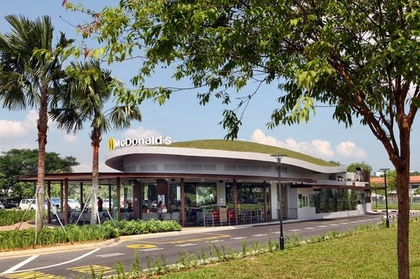 jurong mcdonalds green roof