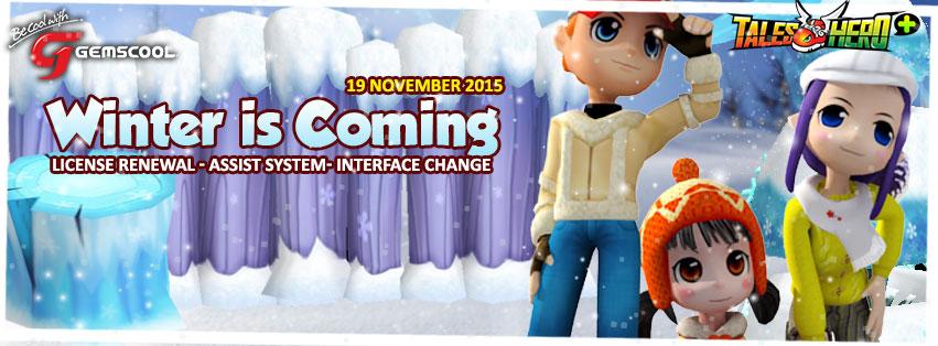 "Tales Hero Indonesia Upgrade Versi Client ""Winter is Coming"""