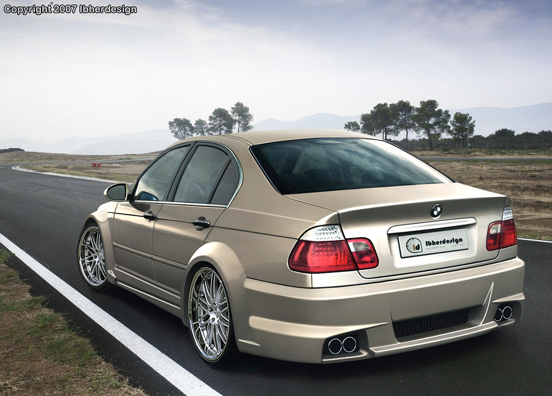 Wallpapers Cars  Bmw e46