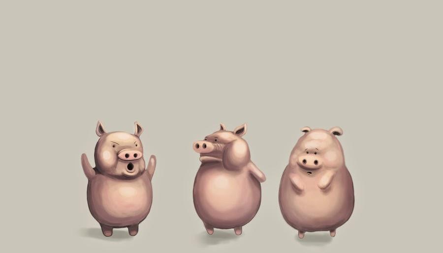 Trzy małe świnki, morały baśni, morał baśni trzy małe świnki, streszczenie baśni, baśnie na warsztacie, Mateusz Świstak, Limbo, three little pigs