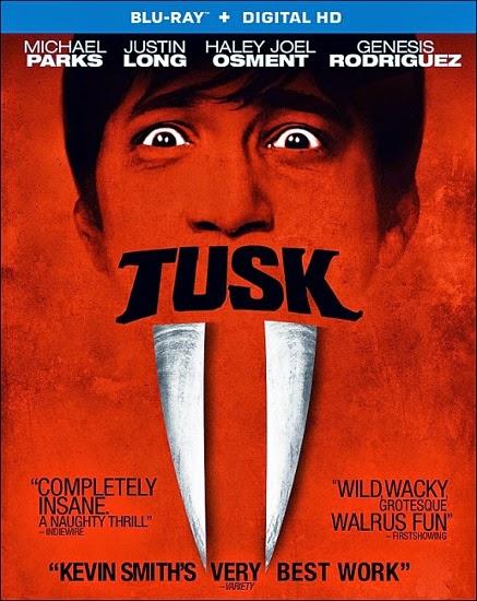"""النجم """" جاستين لونج """" في فيلم الرعب والدراما Tusk 2014 + Torrent"""