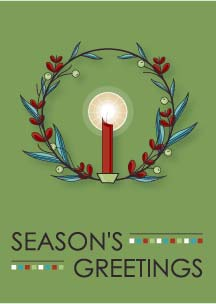 SeptemberHouse Holiday Card design 2013