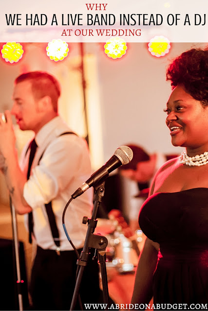 Why We Had A Live Band Instead Of A DJ At Our Wedding