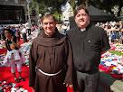 Frei André Becker, OFM e Rev. Leandro Campos, OFS