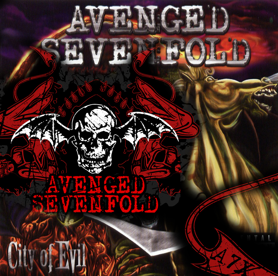 ZIGNIE WALLPAPER  allcdcovers avenged sevenfold city of evil
