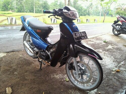 modifikasi supra fit 110 cc
