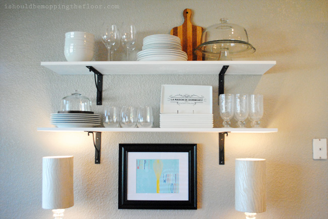 Simple Dish Shelf Styling Ideas, Tips & Tricks