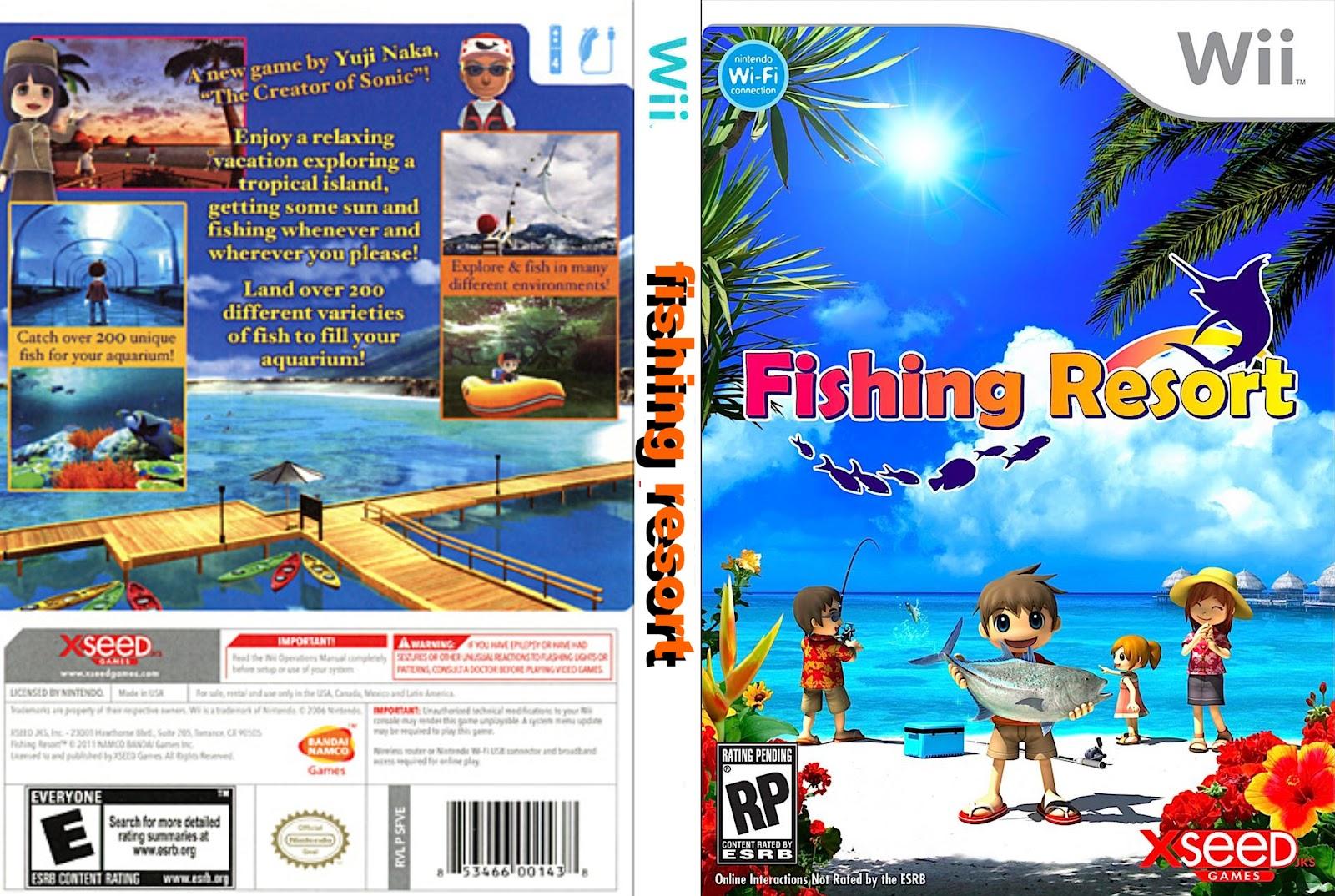 Mma games tu lugar de juegos y peliculas todas las for Fishing resort wii