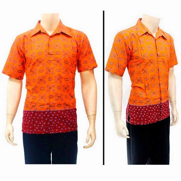 Baju Hem Batik  Pria BP4260
