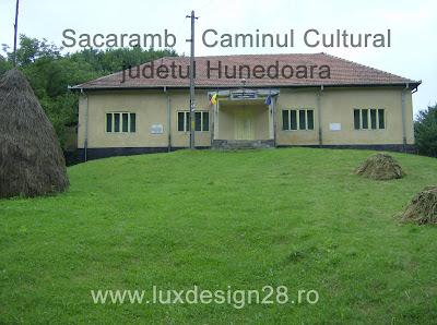 Caminul cultural din satul Sacaramb