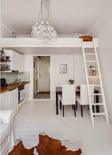 Um micro loft com tudo que voc pode imaginar larissa - Loft pequeno ...