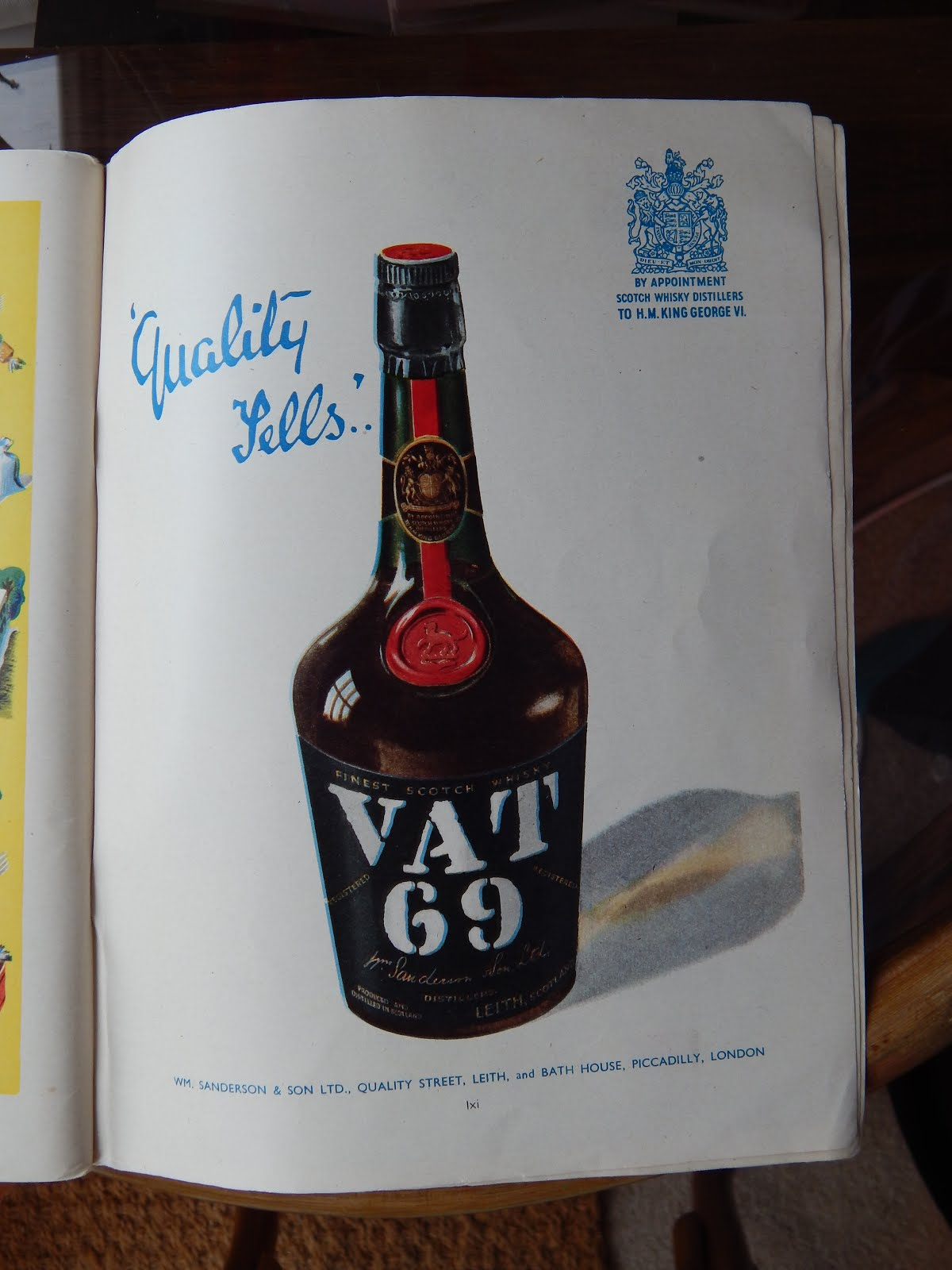 Who remembers Vat 69?
