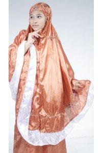 Mukena Abutai - Coklat PH (Toko Jilbab dan Busana Muslimah Terbaru)
