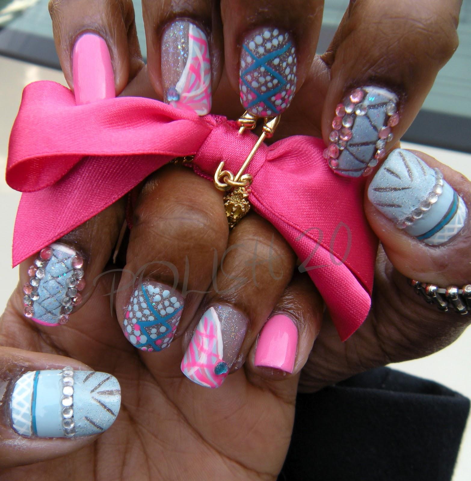 Nicki Minaj Nails Design