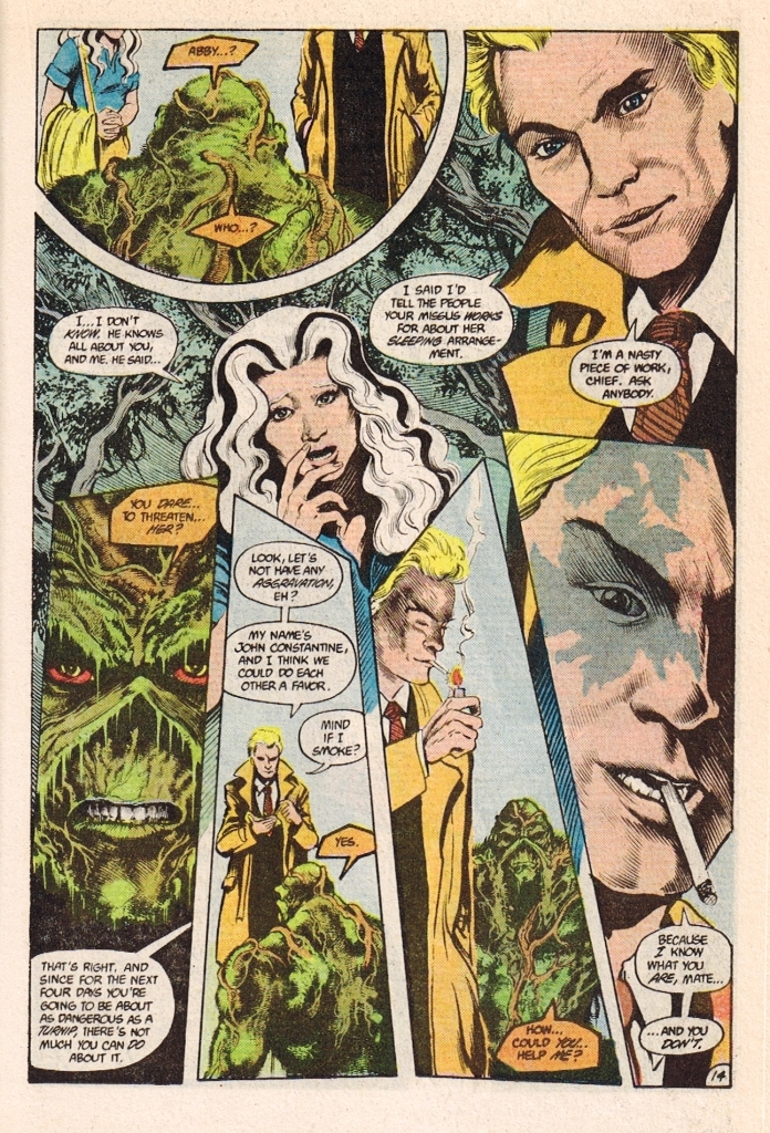 Pages Thing Pages of The Swamp Thing