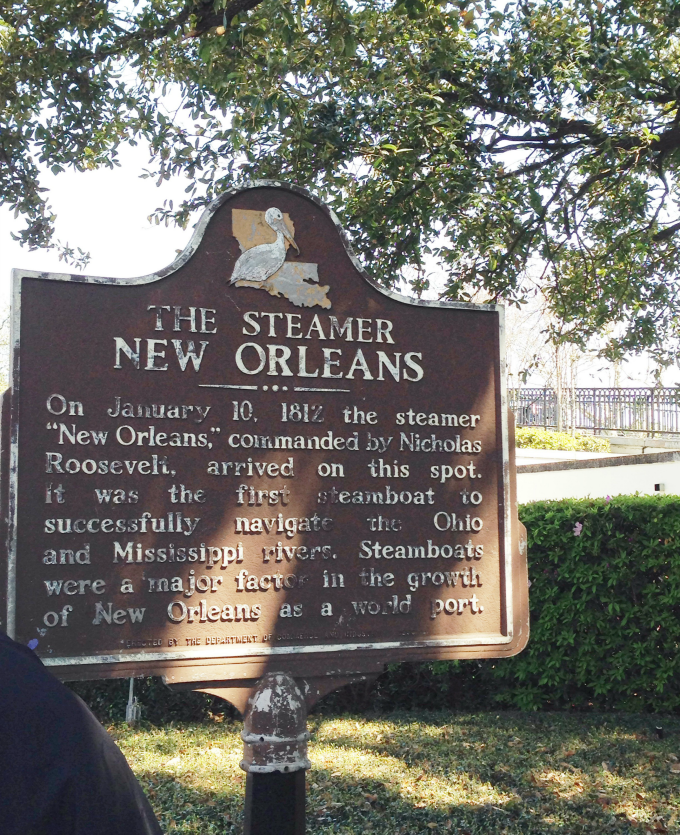 the steamer new orleans