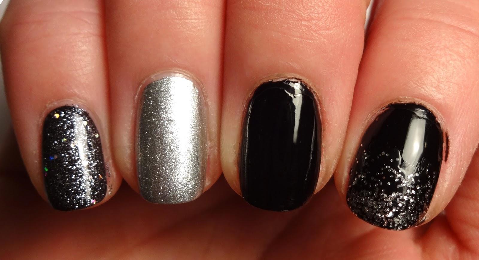 Glitter Gradient Nail