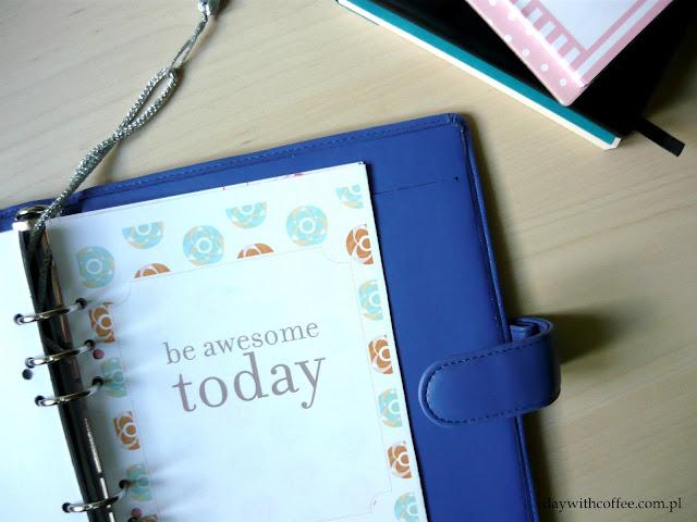 kalendarz planner DIY
