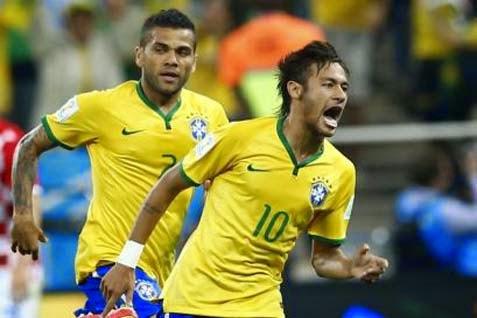 Brasil Berhasil Tundukkan Kroasia 3-1