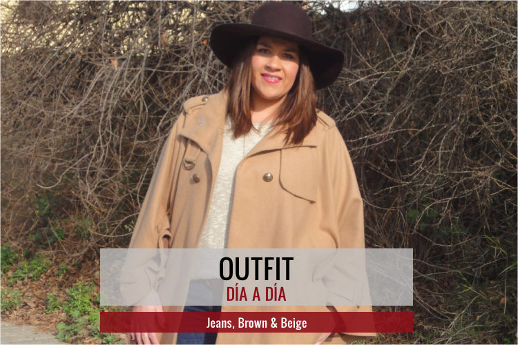Outfit: Jeans, Brown & Beige