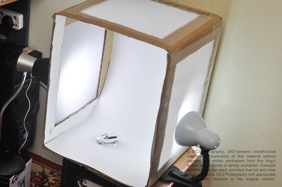 how to make a mini photo studio at home