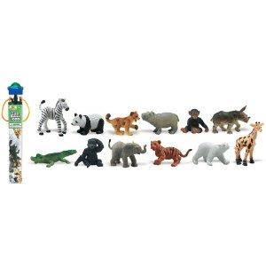 Pre-kindergarten toys - Safari Ltd Zoo Babies Toob