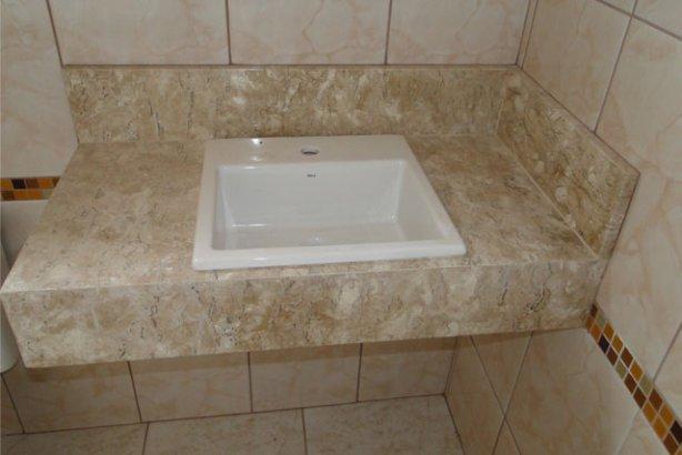Pias dos Banheiros ~ Reforma Aí -> Como Instalar Pia De Banheiro Com Coluna Suspensa