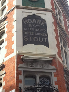 Old pub sign, New Row, London WC2